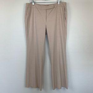 WHBM khaki modern boot trouser size 14